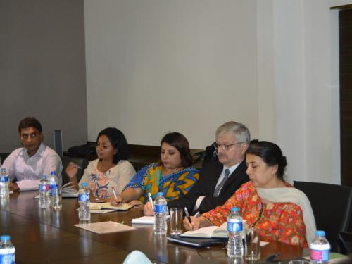 ADB Mission Meets with SEF Management and its Partners