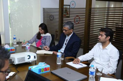 A Meeting was held between the SEF and the Bill & Melinda Gates Foundation