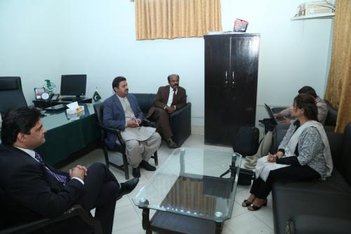 Meeting With Sukkur IBA Officials (Dadu)