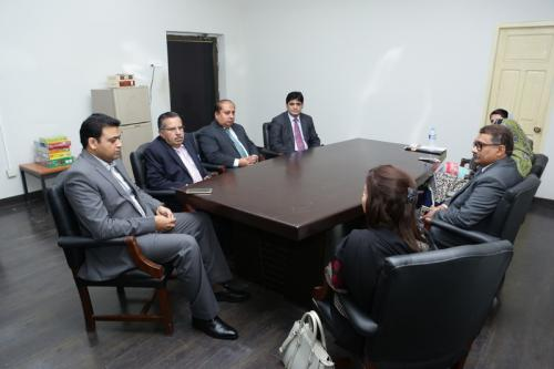 Meeting With Sukkur IBA Officials (Khairpur)