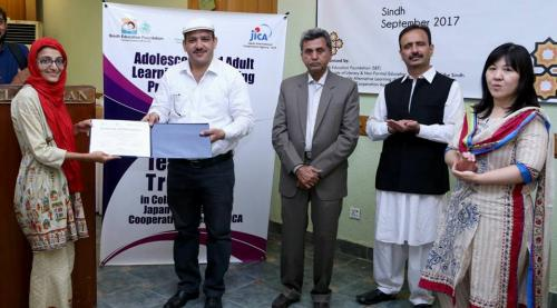 Teachers' Training, in collaboration with JICA & SED, Govt. Of Sindh